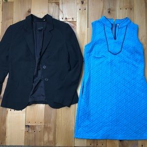 Bundle Crown & Ivy teal dress blazer the Limited